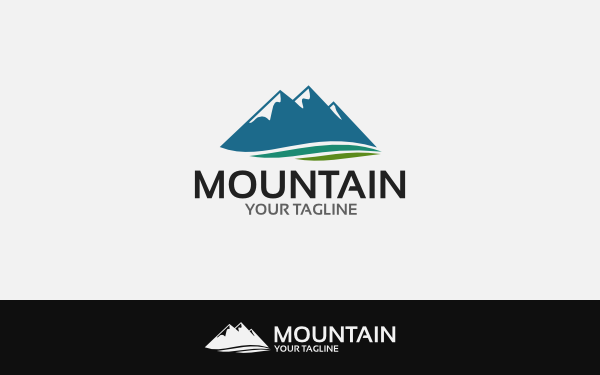 Mountain logo by daisydec wrapbootstrap mountain logo accmission Images