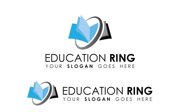 education ring logo template by kazierfan wrapbootstrap