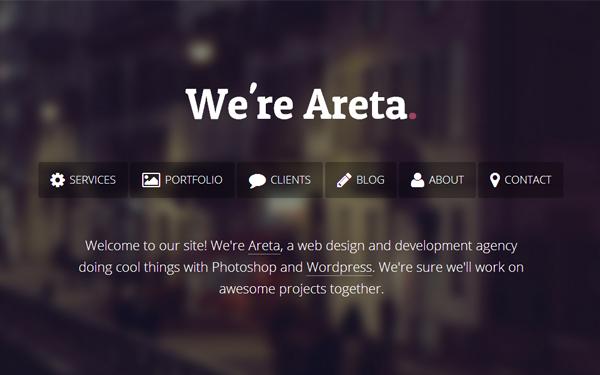 Full Site Templates - Areta - <p>Agency Portfolio Template </p>