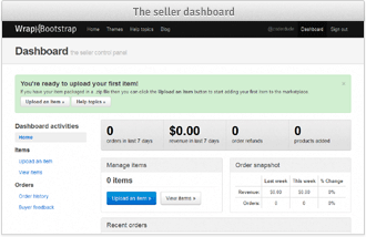 start selling wrapbootstrap