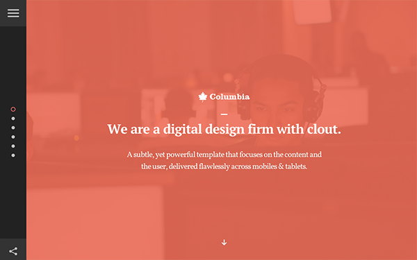 Columbia - Multipurpose Agency Theme