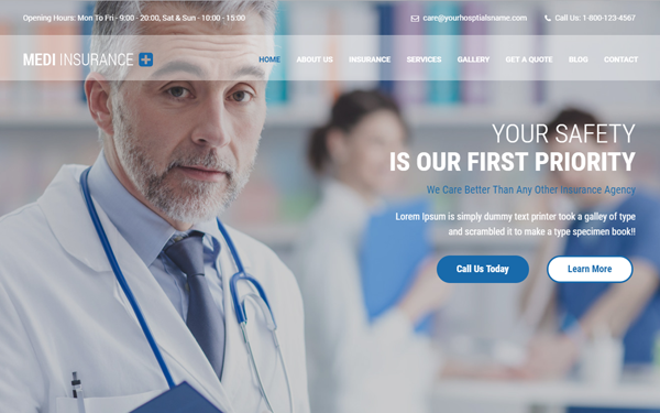 MediPlus - Multipurpose Medical Template
