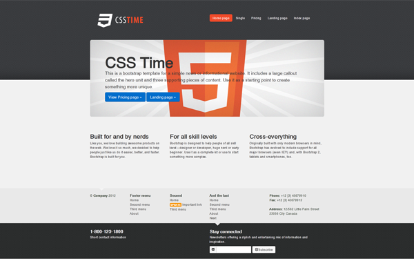 Css time business theme business corporate wrapbootstrap css time business theme accmission Choice Image