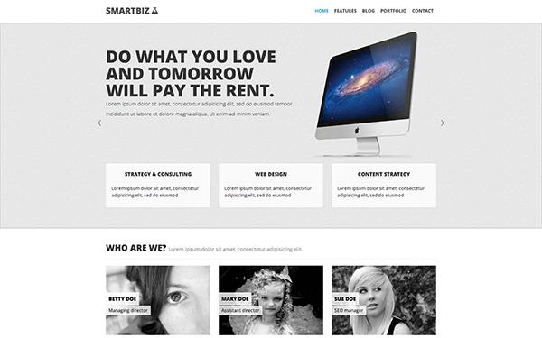 SmartBiz - Responsive Theme