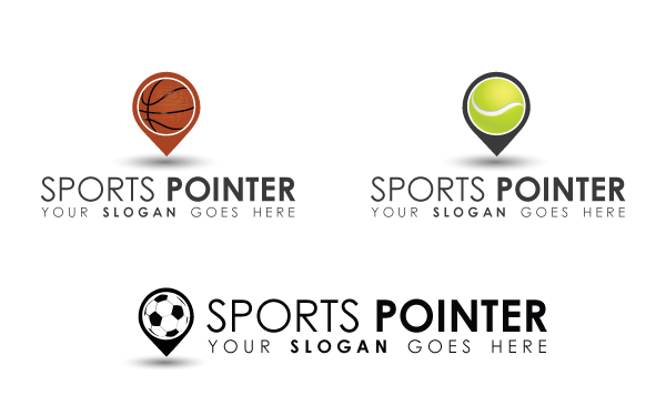 Sports Pointer Logo Template