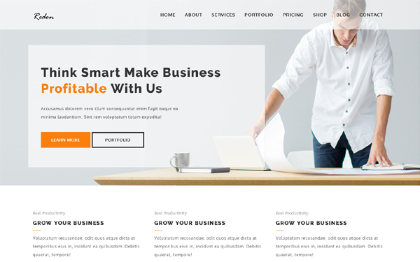 DOWNLOAD - Redon - Multipurpose WordPress Theme