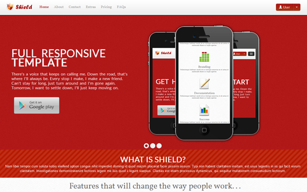 Shield full responsive template business corporate wrapbootstrap shield full responsive template maxwellsz