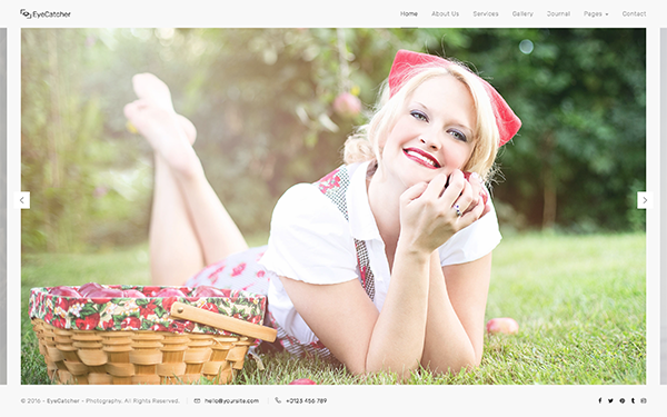 EyeCatcher - Photography Template