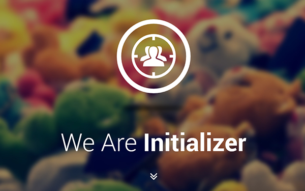 Initializer Portfolio/Landing Page - Live Preview - WrapBootstrap