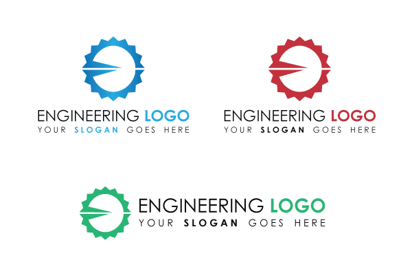 engineering logo template by kazierfan wrapbootstrap