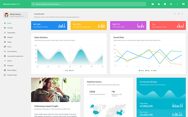 ... | Admin & Dashboards | WrapBootstrap - Bootstrap Themes & Templates