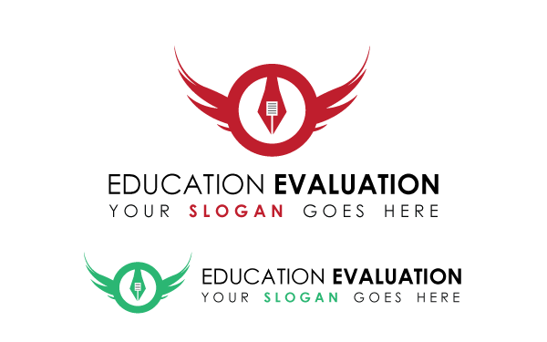 Education Evaluation Logo Template