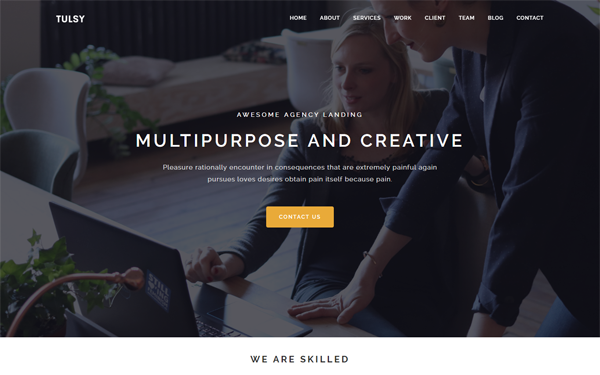 DOWNLOAD - Tulsy - Multipurpose Landing Page Template