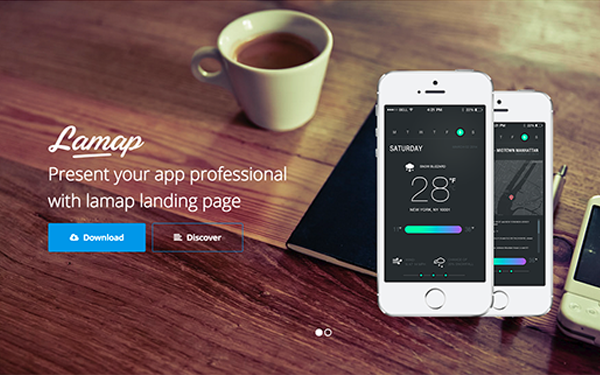 Lamap - Multi-Purpose Landing Page - Live Preview - WrapBootstrap