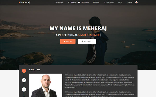 DOWNLOAD - Meheraj - Portfolio & Resume Template