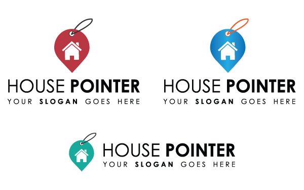 House Pointer Logo Template