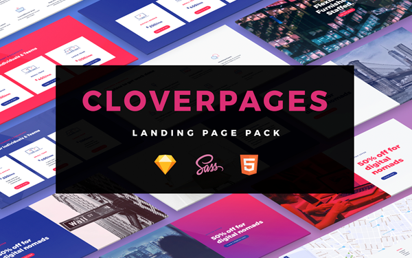 Cloverpages landing page bundle