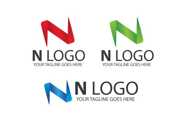 N letter logo template by kazierfan wrapbootstrap n letter logo template maxwellsz