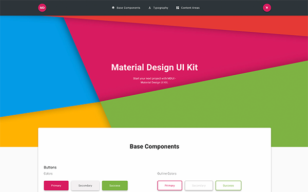 DOWNLOAD - MDUI - Material Design UI Kit