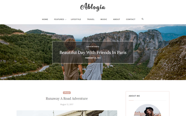 DOWNLOAD - Ablogia - Responsive Blog Template