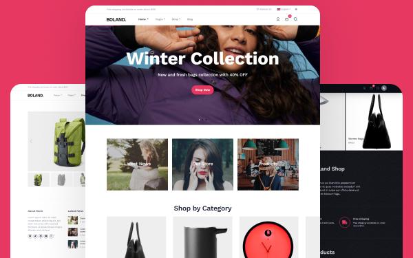 Boland Modern Online Shop Template Wrapbootstrap