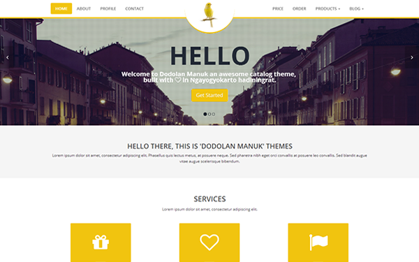 Dodolan Manuk - Catalog Theme - Live Preview - WrapBootstrap