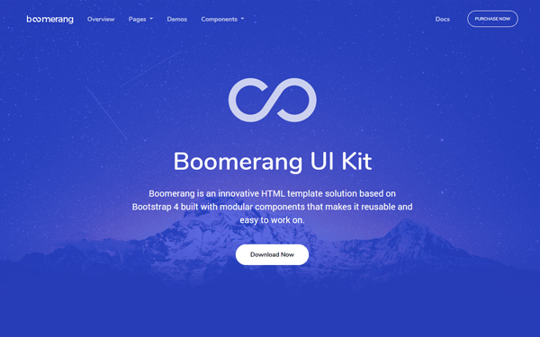 Boomerang - MultiPurpose Template - Live Preview - WrapBootstrap