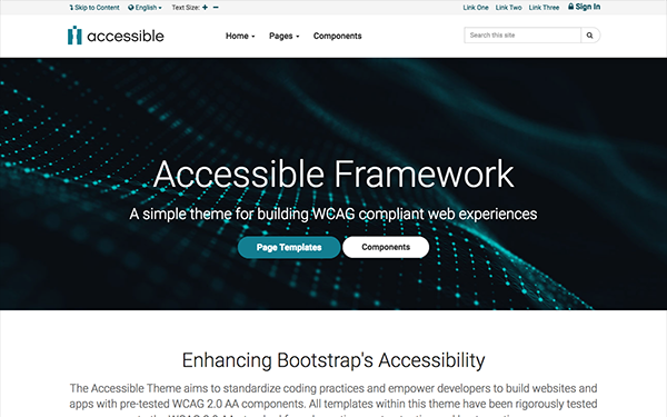 Accessible - WCAG/508 Framework