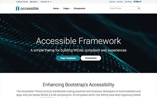 Accessible Wcag 508 Framework