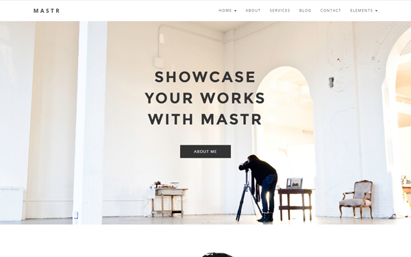 Mastr - Creative Multipurpose Template