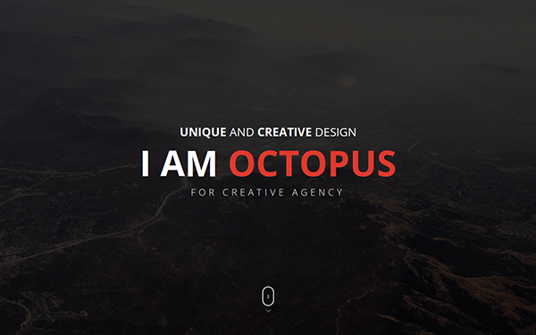 Octopus Onepage Parallax HTML Template - Live Preview - WrapBootstrap
