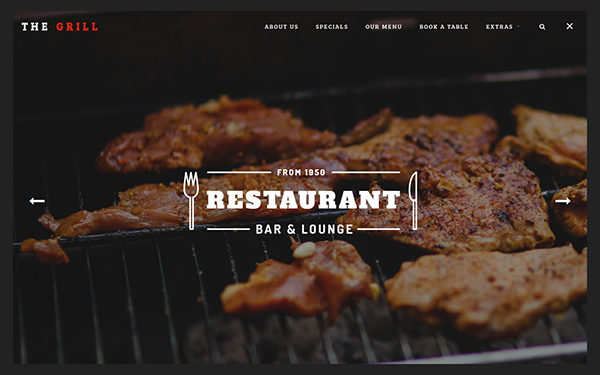 TheGrill - Creative Restaurant Template
