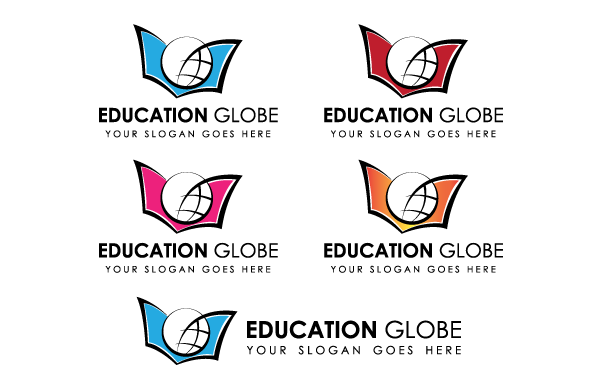 Education Globe Logo Template