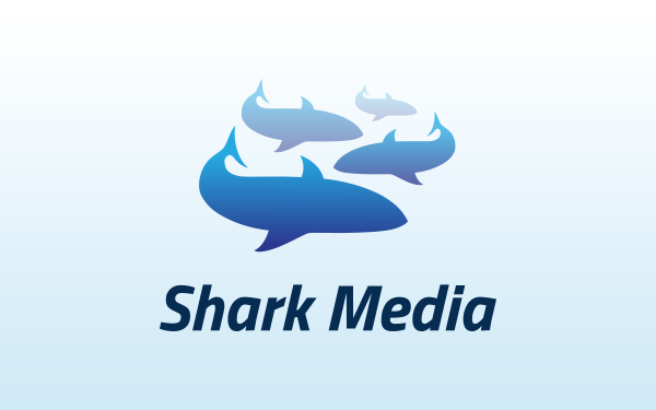 Shark Media Logo Template