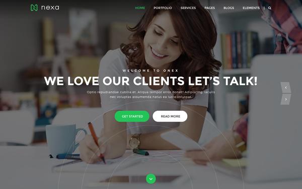 Nexa - Creative Agency Portfolio Theme
