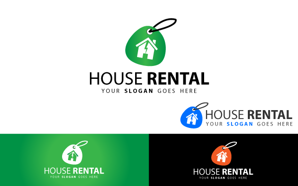 House Rental Logo Template