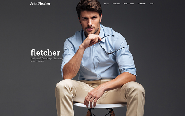 Fletcher Universal One-Page Template