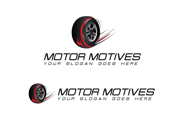 Motor Motives Logo  Template