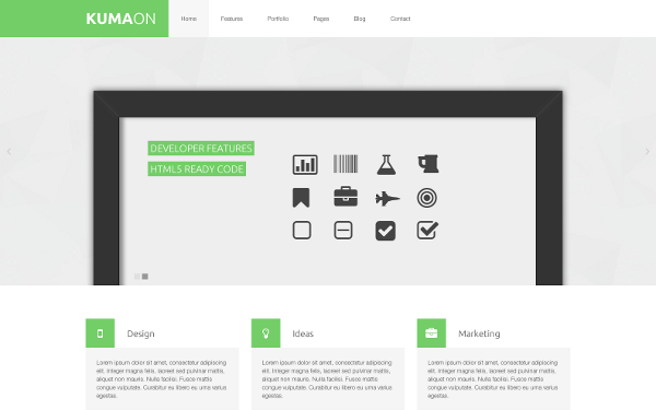 KumaOn - Clean Multipurpose Theme