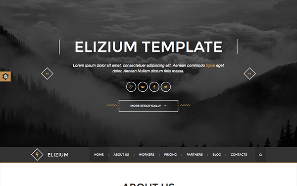 Elizium - Responsive HTML5 Template - Live Preview - WrapBootstrap