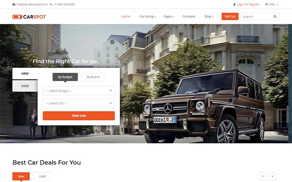 [DOWNLOAD] - Carspot - Automotive Car Dealer