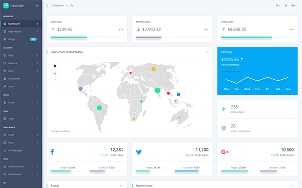 DOWNLOAD - Datta Able - Bootstrap Admin Template