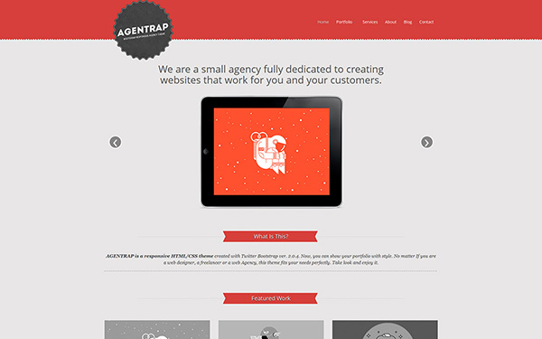 Agentrap - Agency Theme