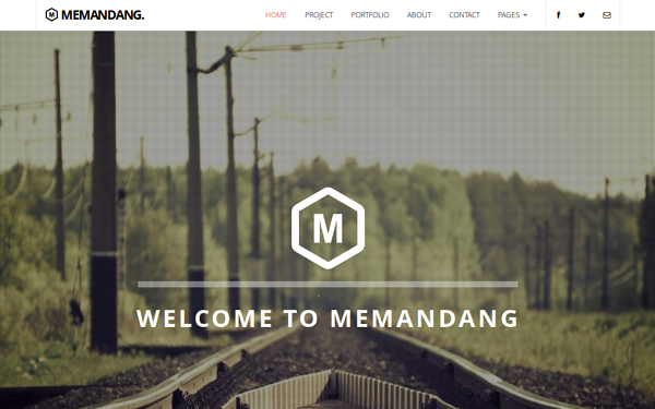 Memandang - Bootstrap Business TemplateChange Log