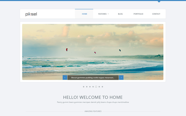 Piksel - Multipurpose HTML Template - Live Preview - WrapBootstrap