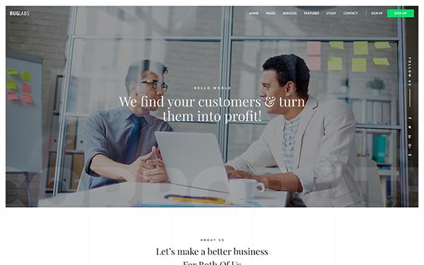 DOWNLOAD - Buglabs - Creative Website Template