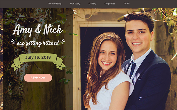 Matrimony | Wedding Invitation - Live Preview - WrapBootstrap