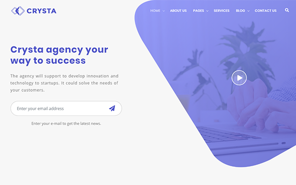 DOWNLOAD - Crysta - Startup Agency and SasS Template