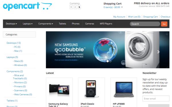 SwatchCart - Responsive OpenCart Theme | E-Commerce | WrapBootstrap