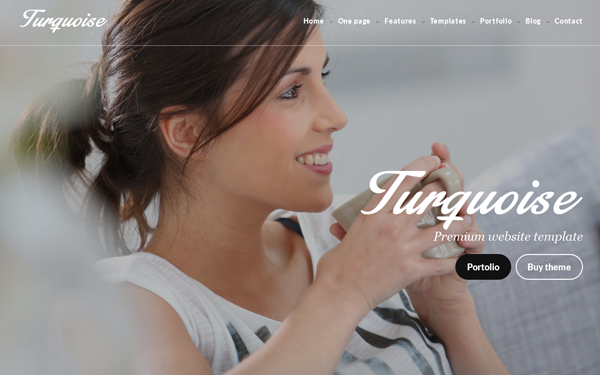 Turquoise - Multipurpose HTML Website - Live Preview - WrapBootstrap